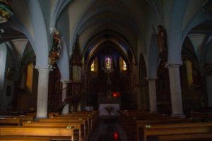 intérieur église de bordères 64 béarn