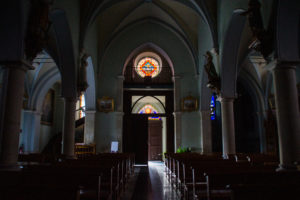 vitraux église de bordères 64 béarn