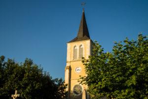 clocher église de bordères 64 béarn