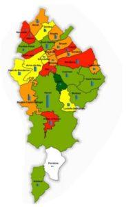 carte du pays de Nay
